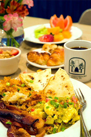 Mountain Sunrise Breakfast