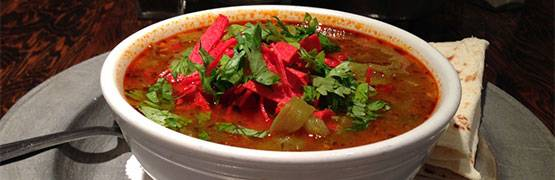 Red and Green Chile Posole